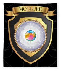 Mcclure Family Crest Fleece Blanket