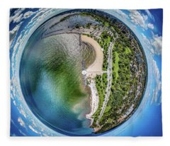 Mckinley Park Little Planet Fleece Blanket