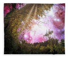Meadow Starry Night Fleece Blanket