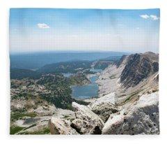 Medicine Bow Peak Fleece Blanket