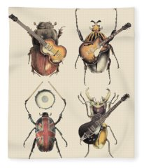 Meet The Beetles Fleece Blanket
