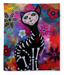 Meow Fleece Blanket