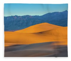 Mesquite Flats Sunsrise Fleece Blanket