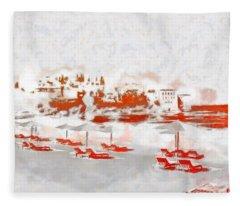 Metenegro Port View Fleece Blanket