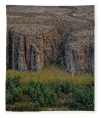Mexican Box Canyon Fleece Blanket