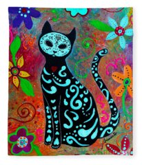 Mi Gato Dulce Fleece Blanket