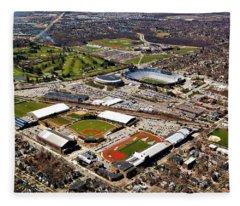 Michigan Stadium Fleece Blanket