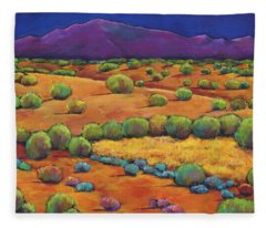 Mexican Paintings Fleece Blankets