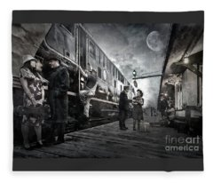 Midnite Run Fleece Blanket