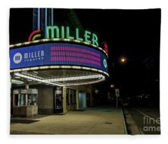Miller Theater Augusta Ga 2 Fleece Blanket