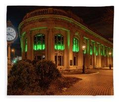 Milwaukee County Historical Society Fleece Blanket