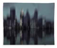Minneapolis 1 Fleece Blanket