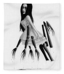 Misaki - Artwork Fleece Blanket