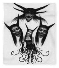 Miss Carnivorous - Artwork Fleece Blanket