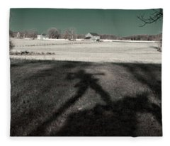 Mississippi Shadow Fleece Blanket
