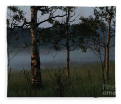 Mist Fleece Blanket