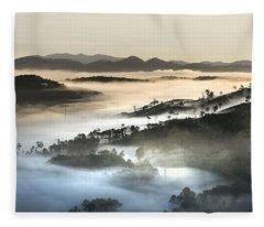 Mist Fleece Blanket