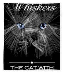Mister Whiskers Fleece Blanket