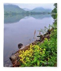 Misty Bluff Country Fleece Blanket