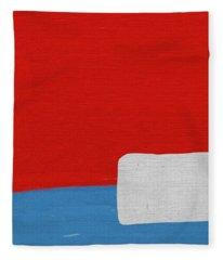 Moby Dick Fleece Blanket