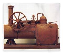 Derelict Steam Boiler 1 Fleece Blanket