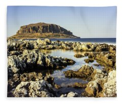 Monemvasia Rock Fleece Blanket