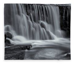 Monsal Dale Weir Fleece Blanket