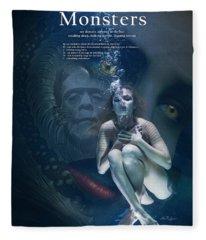 Monsters Fleece Blanket