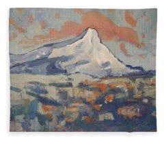 Montagne Sainte Victoire Fleece Blanket
