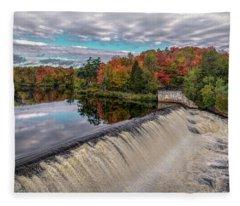 Montmorency Falls Fleece Blanket
