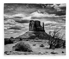 Monument Valley, June 2018 Fleece Blanket