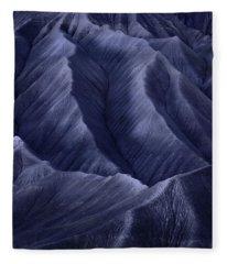 Moon Light Mountainside Fleece Blanket
