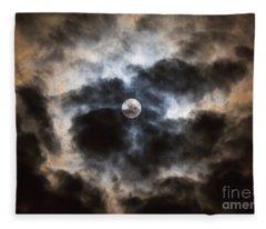 Moonglow 1 Fleece Blanket