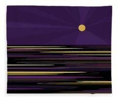 Moonlight Bay Fleece Blanket