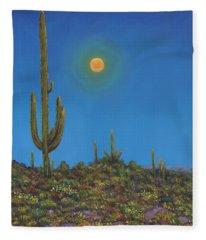 Moonlight Serenade Fleece Blanket