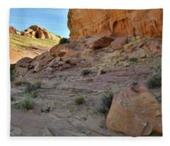 Morning At Valley Of Fire State Park Fleece Blanket