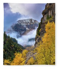 Morning In The San Juan Mountains Fleece Blanket