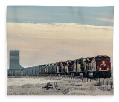 Morning Run Fleece Blanket