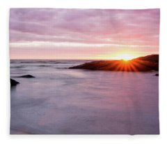 Morning Sun Good Harbor Fleece Blanket