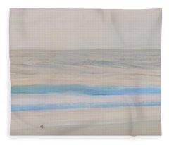 Morning Walk Panel 3 Fleece Blanket