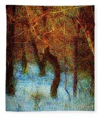 Morning Worship Fleece Blanket