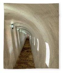 Morro Castle Hallway Fleece Blanket