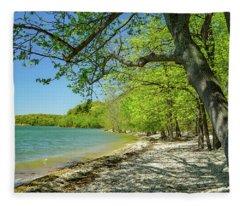 Moss Creek Beach Fleece Blanket