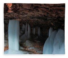 Mossy Cave Fleece Blanket
