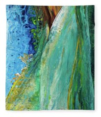 Mother Nature - Portrait View Fleece Blanket