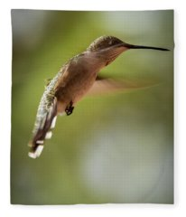 Motionless Flight Fleece Blanket