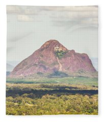 Mount Beerwah Fleece Blanket