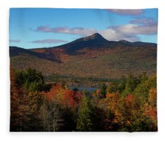 Mount Chocorua New Hampshire Fleece Blanket