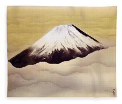 Mount Fuji - Shinjin - Top Quality Image Edition Fleece Blanket