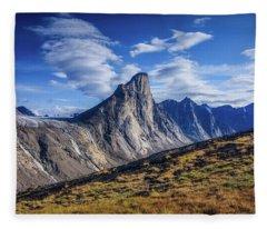 Mount Thor - Ridge Fleece Blanket